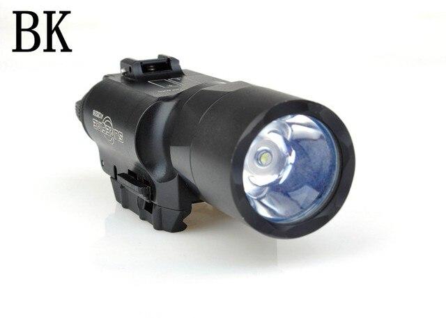 Element Airsoft Surefir X300 Ultra Weapon Flashlight Pistol lanterna Airsoft X300U Fashlight 370 Lumen with Picatinny Rail EX359