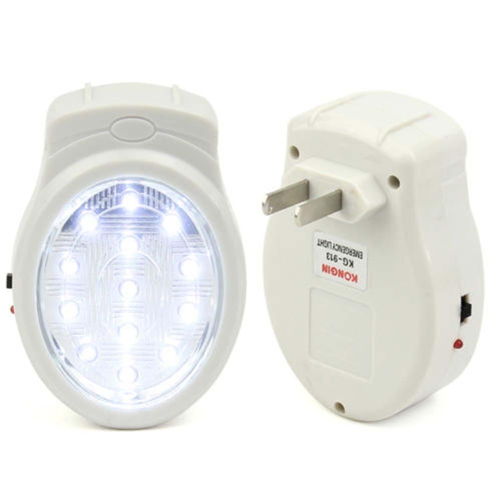 Lâmpadas de Parede 13 led recarregável de emergência Área de Iluminação : Medidores 3-5square