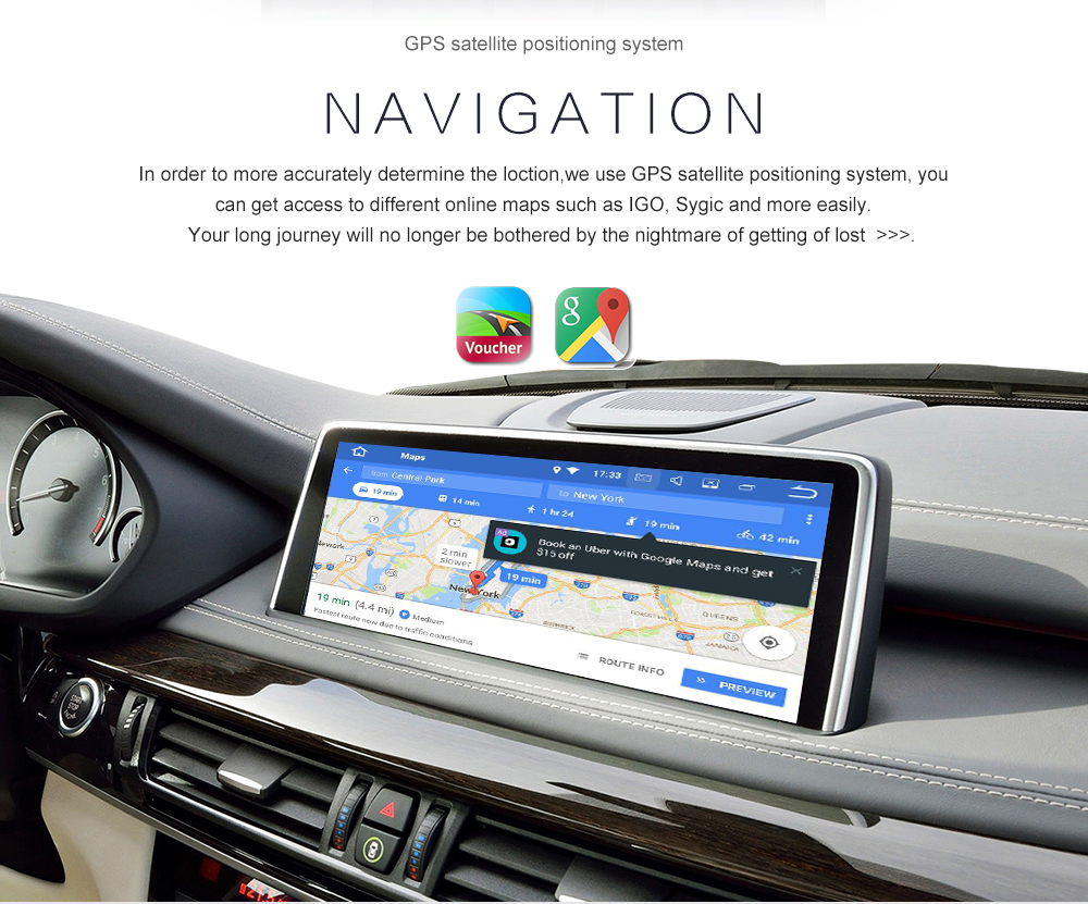 """Best 16"""" Tesla style Android 7.1 Car GPS Navigation Multimedia Player for TOYOTA LAND CRUISER LC200 2008-2015 Radio autostereo no dvd 0"""