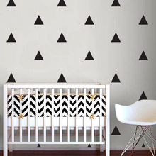 Triangle Pattern Wall Sticker Baby Nursery Children Decals DIY Decorating Art Hot Sale Free Shipping
