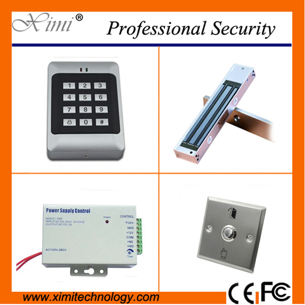 Sigle door access control with keypad EM card access control system simple door access control without software EM lock купить