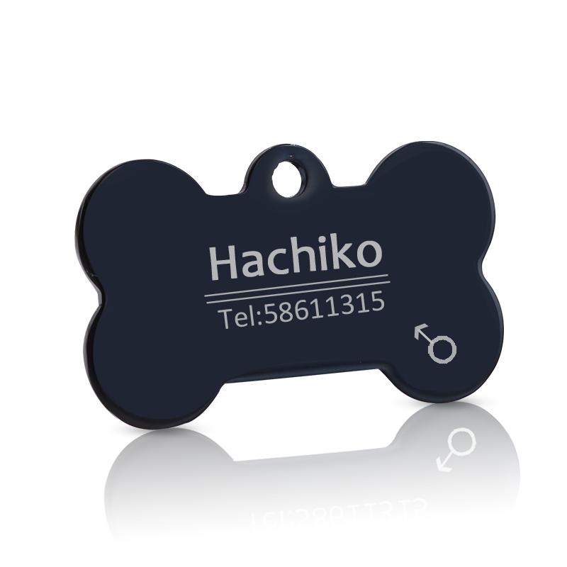 Placa de  Acero inoxidable con etiqueta personalizada 7