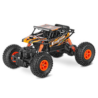 Newest 1 18 4WD Electric Climbing Monster RC Car 2 4Ghz Big Foot Crawler Remote Control
