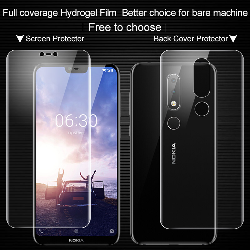Imak sFor Nokia X6 Screen Protector Full Cover Hydrogel II Protective film for Nokia X6 not glass