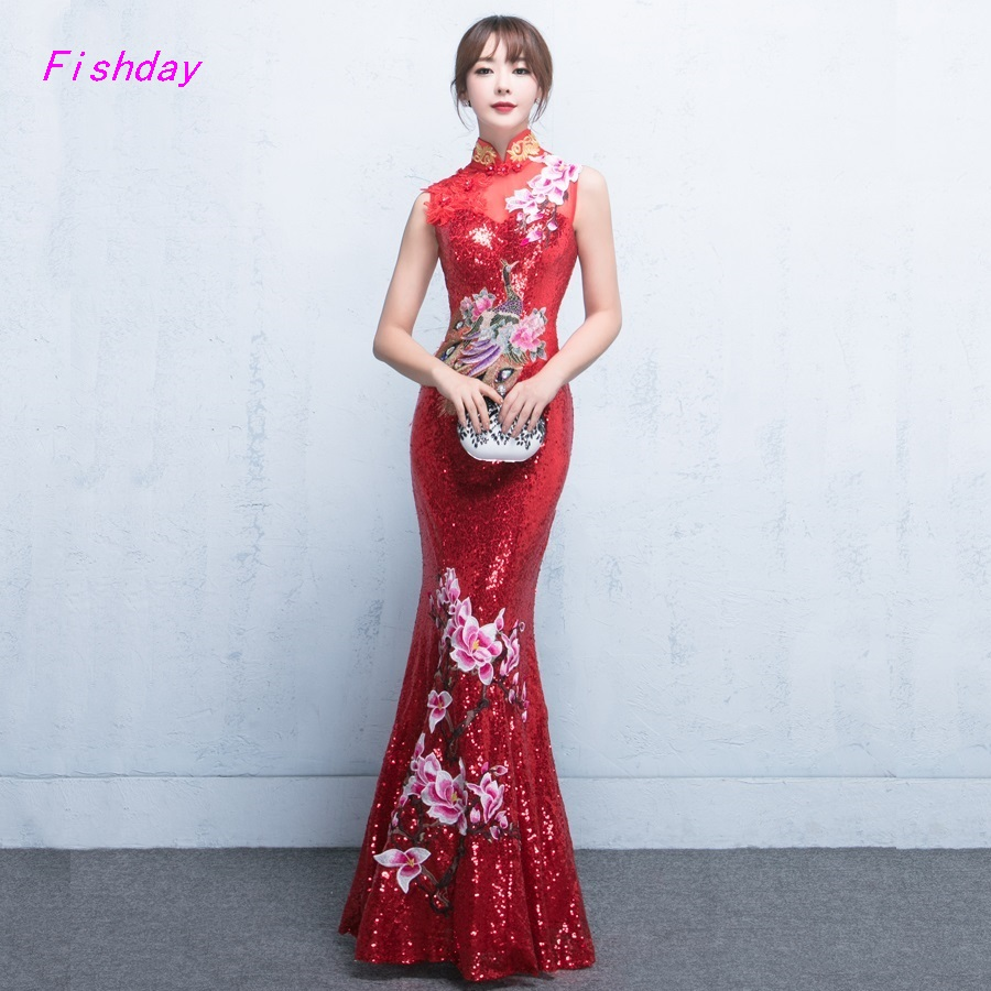 Online Get Cheap Long Red Dresses for Juniors -Aliexpress.com ...