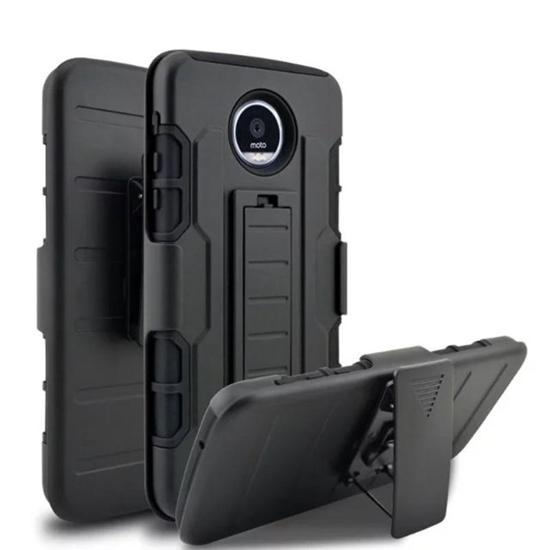 Противоударный 3 в 1 Панцири чехол для Motorola Moto Z <font><b>PLAY</b></font>/Z Force дроид издание/M/G5 чехол подставка ремешках кобура Телефонные чехлы