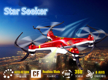New star seeker three color RC Quadcopter HQ894 2.4g 4CH 6-Axis Resistance fall mini rc remote control helicopter drone kids toy