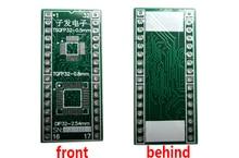 LQFP32 TQFP32 TSQFP32-DIP32 adaptador de Tomada Adaptador de placa PCB PB-FREE sem Cabeçalho Pin