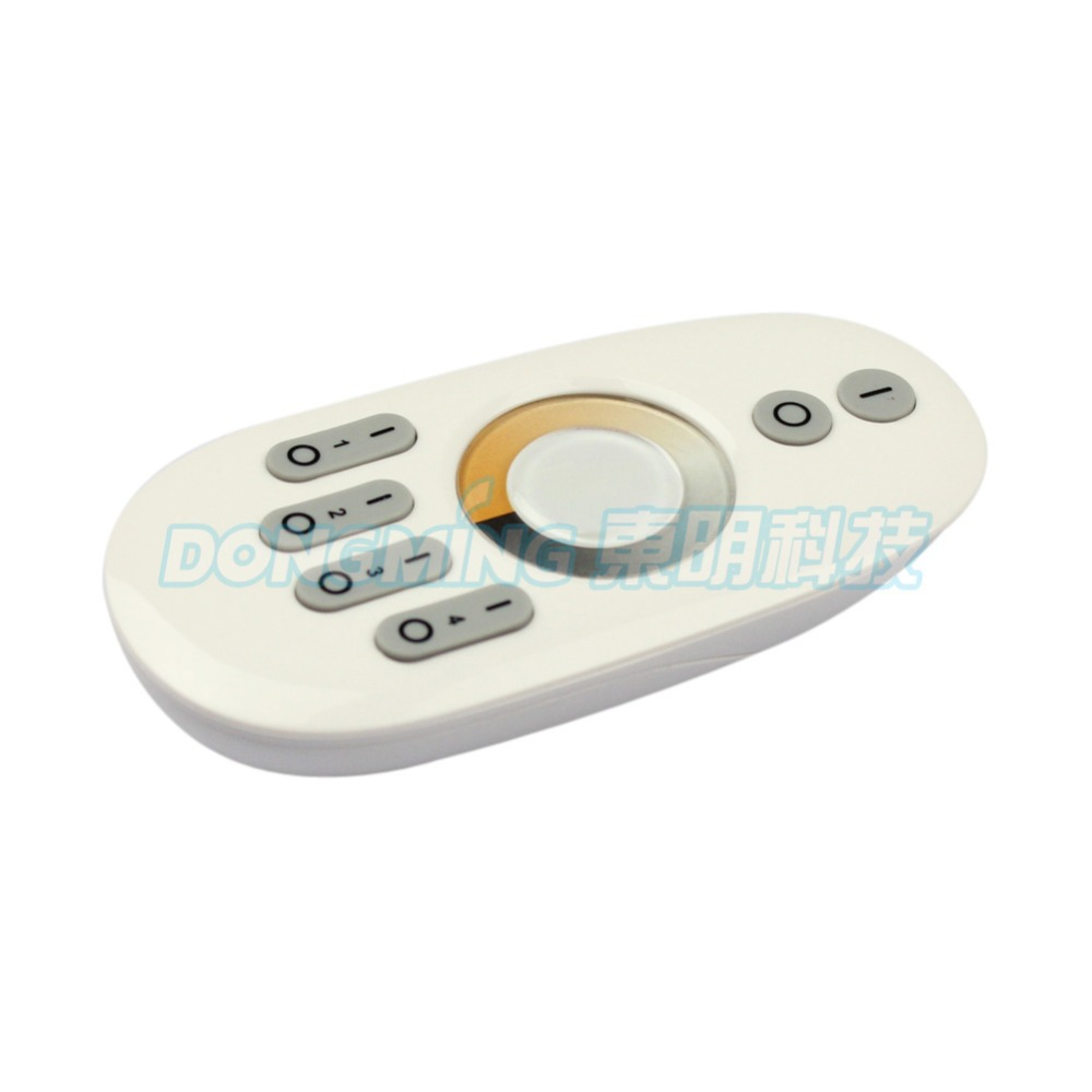 4 zone Touch panel remote control for LED+4pcs 12A rf  wireless 2.4g color tempetature led Controller Dimmer For RGB LED Strip