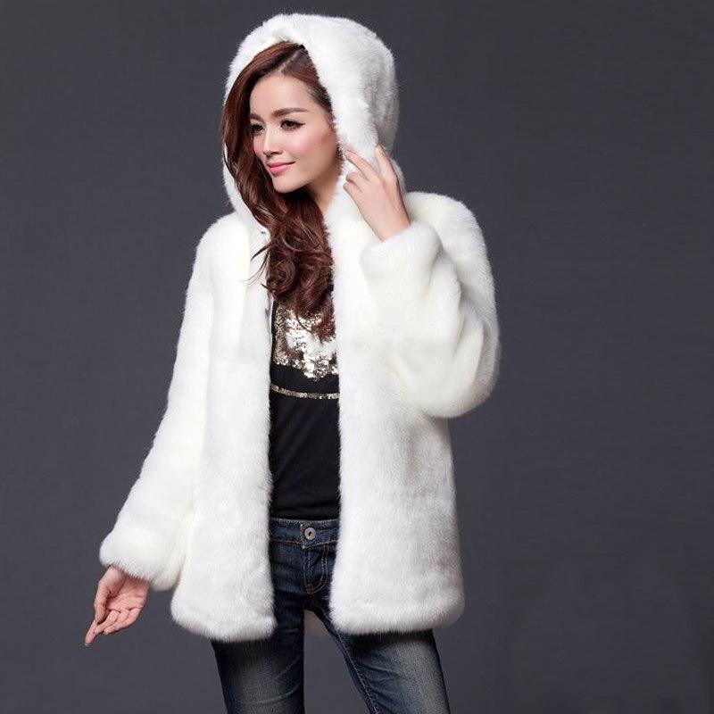 ᗑL ukraine Femmes Long en fausse fourrure manteau poncho fourrure ... 1d36b1d893a2