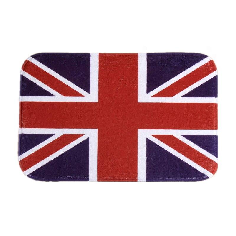 Conception Angleterre Drapeau Imprimer Avant Porte Tapis De