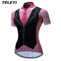 Teleyiสีดำอังกฤษขี่จักรยานย์ยอดนิยมผู้ชายผู้หญิงขี่จักรยานclothingจักรยานจักรยานย์r oupa c iclismo m aillotแจ็ค