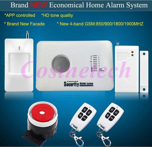 Billig Home security GSM alarmanlage mit APP steuerung, 7 ...