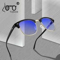 Computer Glasses Transparent For Women Men Spectacle Frame Anti Blue Ray Clear Fashion Eyeglasses Oversize Blue Light Blocking