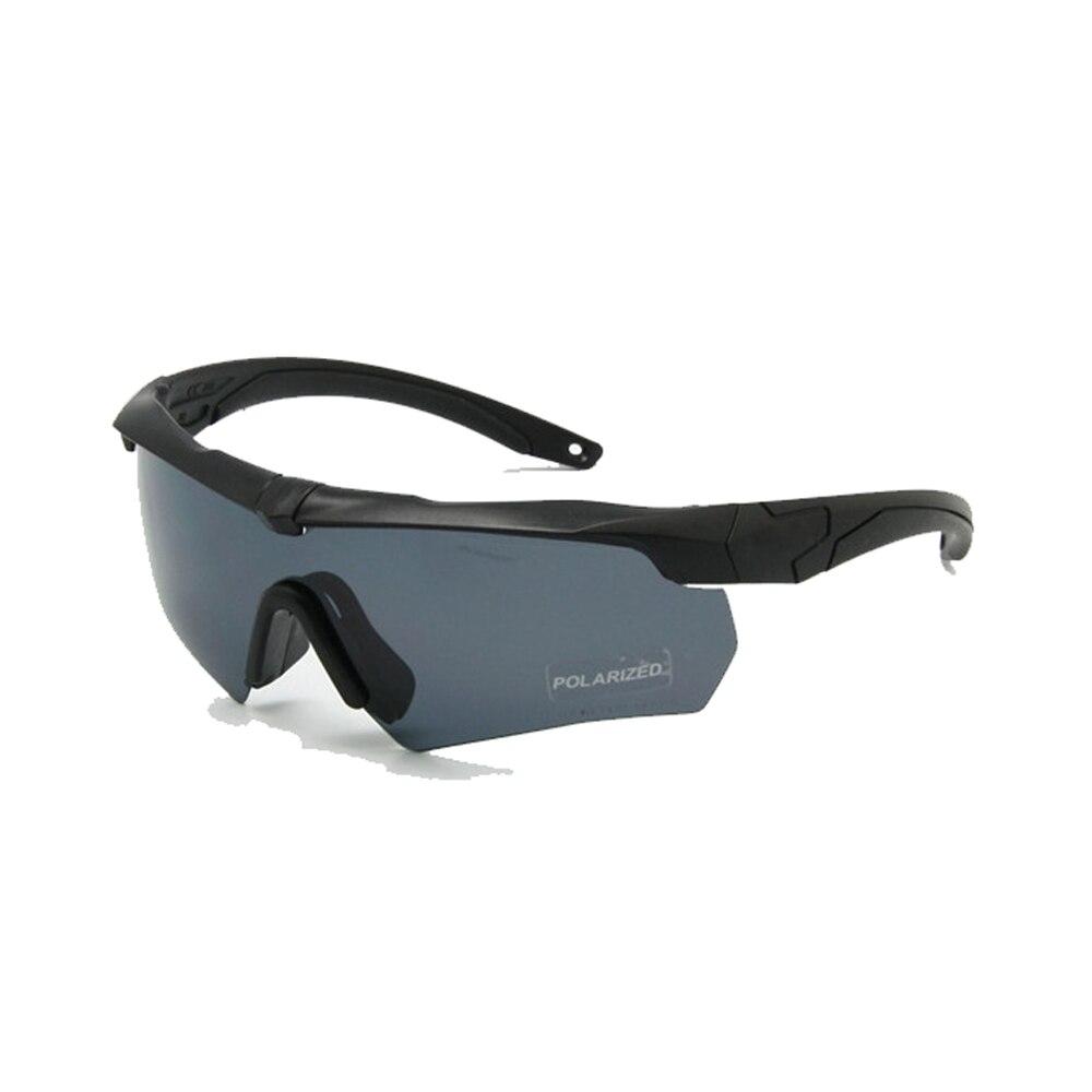 Ballistischen Polarisierte Armee Sonnenbrille Military Brille Taktische Sport Gläser Krieg Spiel Eyeshield 3, 4 oder 5 Objektiv Kit Nachtsicht