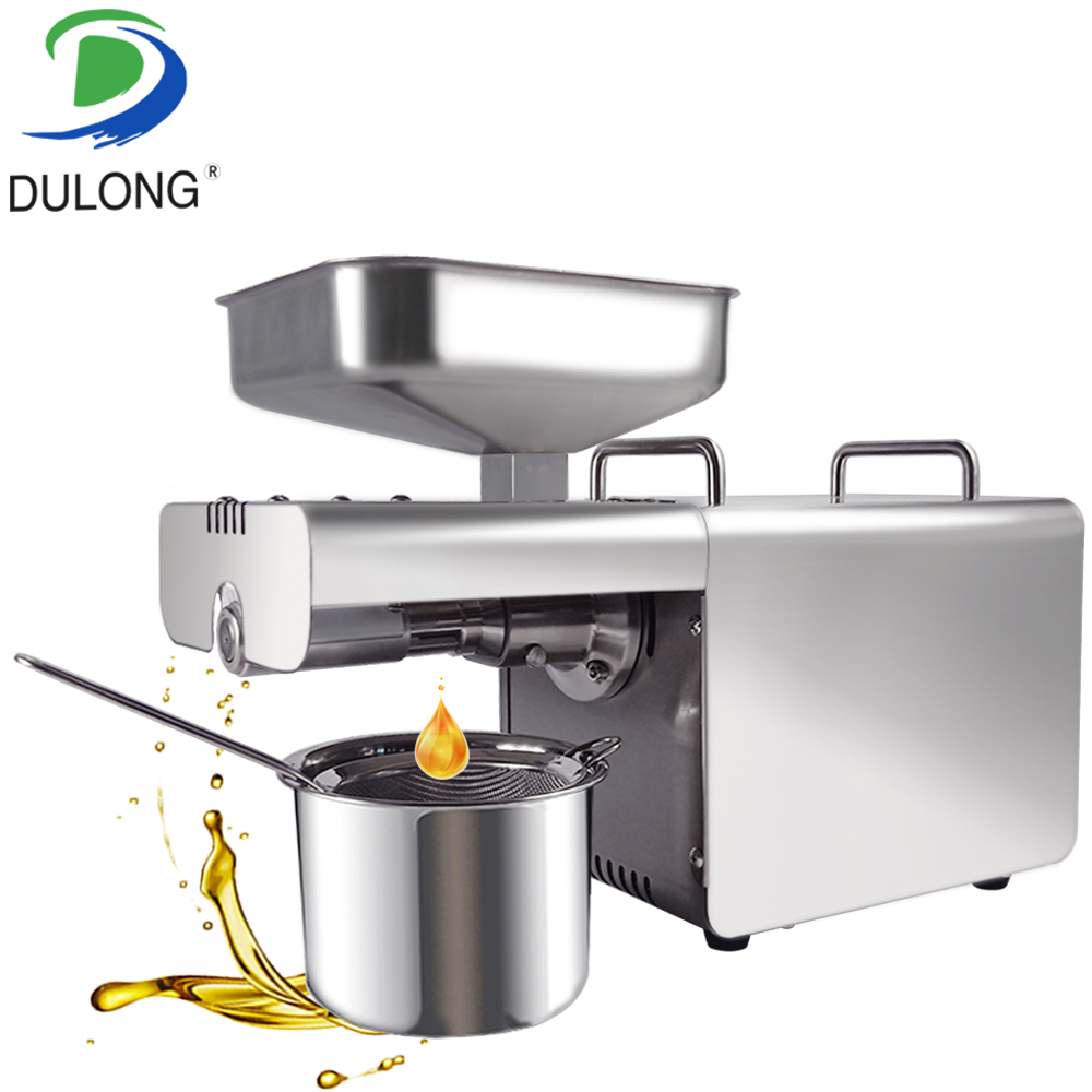 Commercial home stainless steel heat cold peanut soybean sesame sunflower black seeds oil press machine oil extractor expellerCommercial home stainless steel heat cold peanut soybean sesame sunflower black seeds oil press machine oil extractor expeller