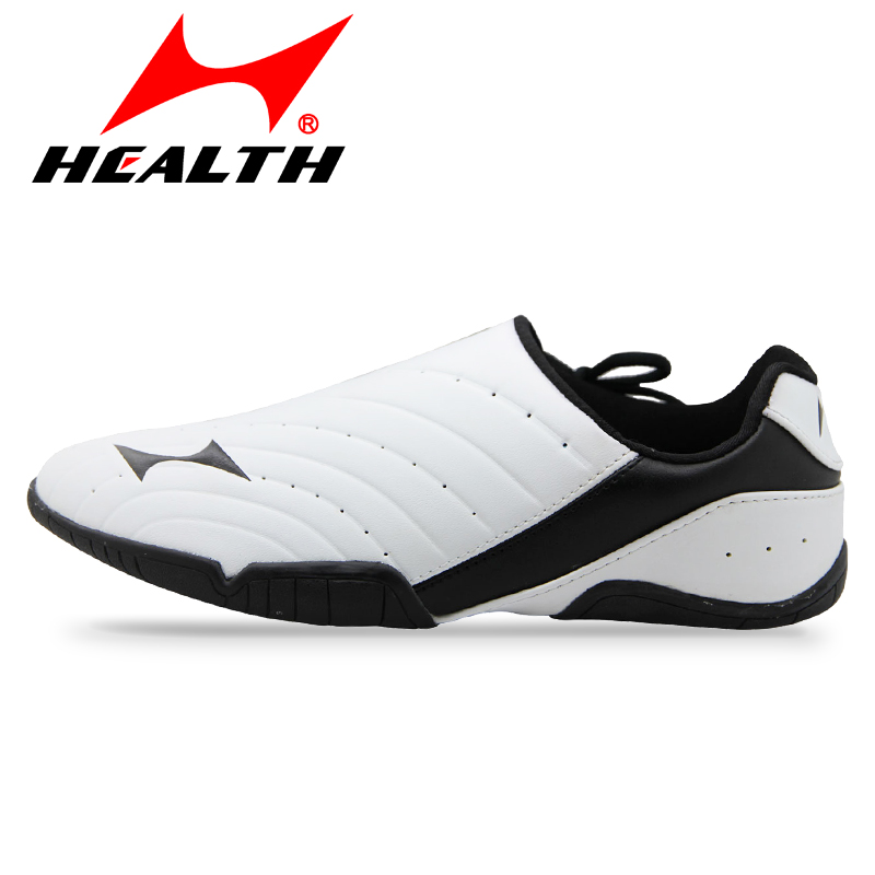 ФОТО Health taekwondo shoes men and women adults martial arts shoes summer breathable wear-resistant training shoes taekwondo 35-44