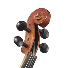 Violin Parts Accessories 4/4 Violin Fiddle Tuning Pegs Ebony Wood Endpin Set Replacement Tool irin 4 4 wood maple electric violin fiddle with ebony fittings cable headphone case black