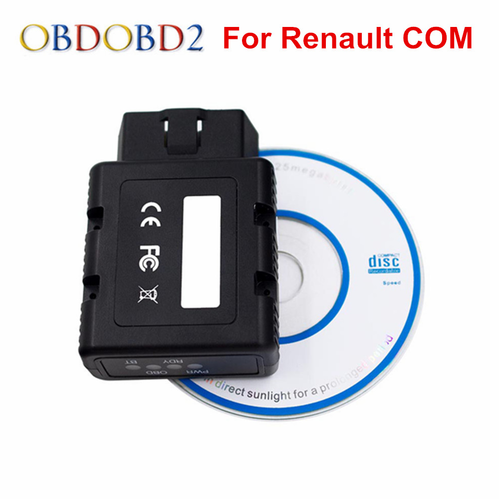 Newest for Renault-COM Bluetooth Diagnostic Tool for Renault COM Diagnostic & Programming Tool Replacement of Can Clip