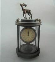 Asian Rare Antique Vintage Cobre Reloj Mecánico, la Mejor Colección Envío Gratis