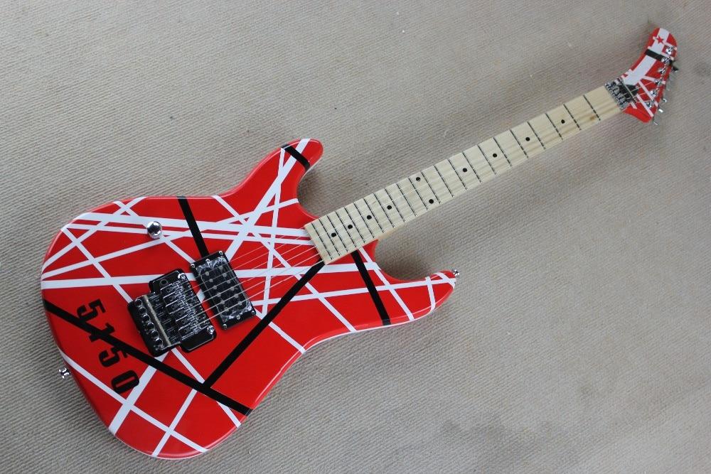 a2beee45337 2019 New + Factory + left handed Kram 5150 electric guitar Eddie Van Halen  Kram lefty