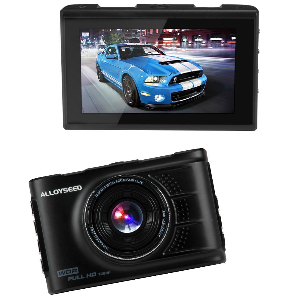 3 0 inch Car Video Camera Recorder 1080P 140 Degree 17MM Camera Lens DVR 4 glass