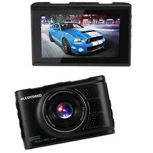 3.0 дюймов Автомобиля Видеокамера 1080 P 140 Градусов 17 ММ Объектив Камеры DVR 4 стеклянный объектив Автомобильный видеорегистратор автомобиль для укладки