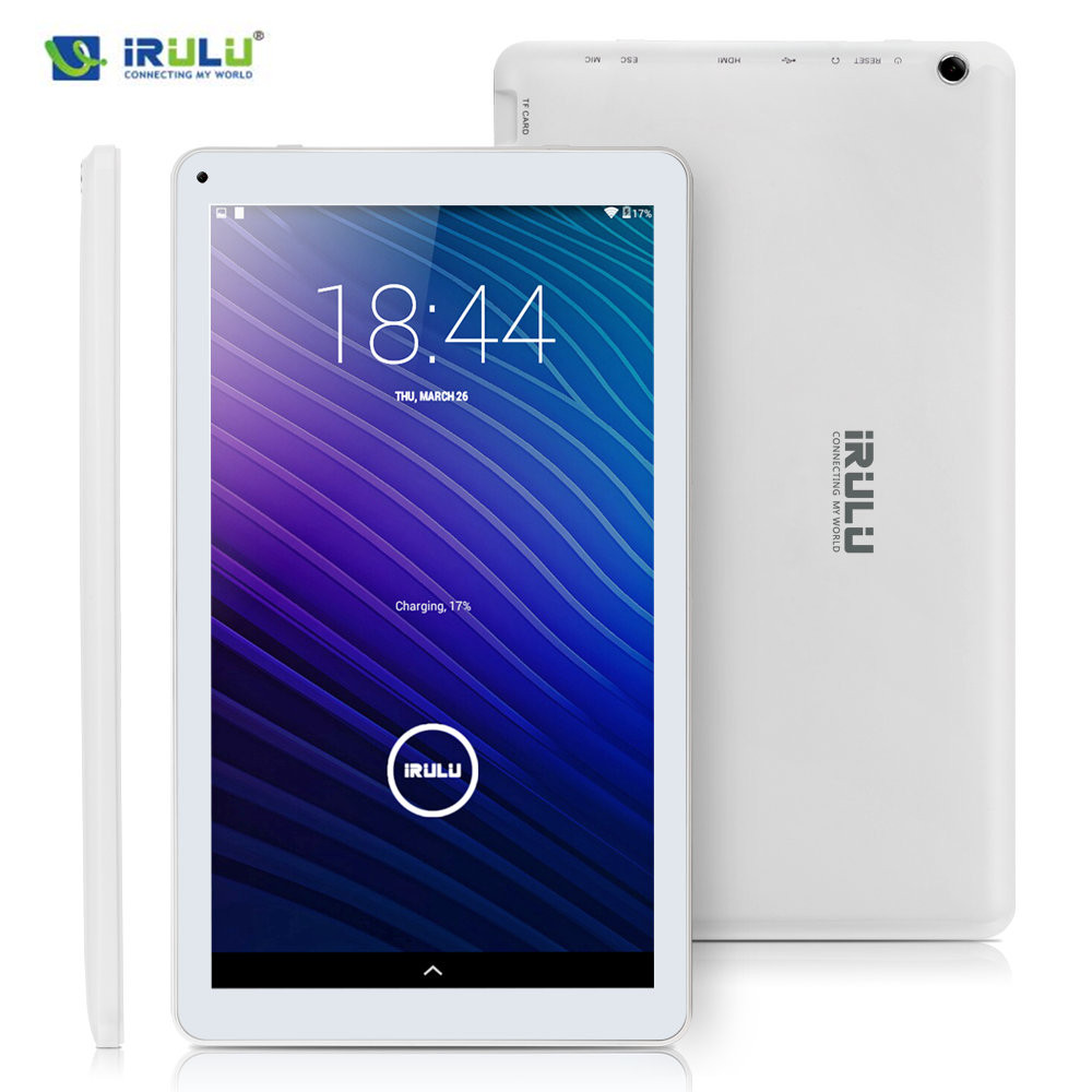 IRULU eXpro 2 Plus tablet (X2 Plus) 10,1 Android 5.1 Tablet PC Octa-core 1,8 gHz 1024*600 Display 1 GB RAM 16 GB ROM Dual Kam