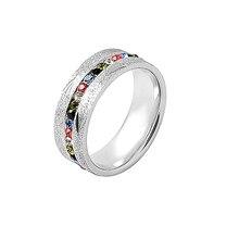 BG-86 alta calidad 316L anillo de moda de acero inoxidable hombres al por mayor/regalo de las mujeres anillo de dedo de la joyería anillo amante pareja