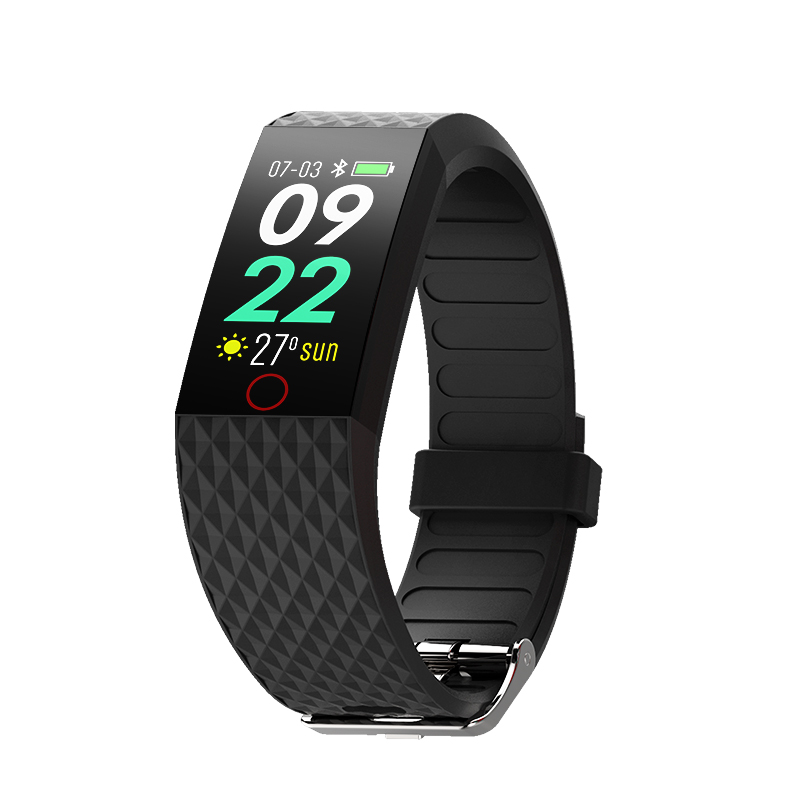 Smart Wristband Fitness Tracker Sport Pedometer Waterproof Heart Rate Blood Pressure Smart Bracelet fashion for man woman Hot-in Smart Wristbands from Consumer Electronics