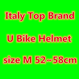 Italy brand U Bike Helmet Red Mtb Bicycle Helmet ciclismo Road Cycling Helmet cap foxe Peter casque evade prevail lazer D(China)