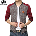 2017 New Bomber Jacket Men Baseball Jacket Fashion Patchwork Manteau Homme Spring and Autumn Men Coats MJ268