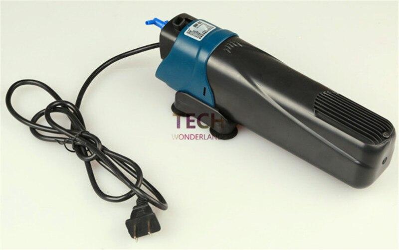 Sunsun jup-02 construit en filtre uv lumière pour aquarium fish tank cleaner algues submersible filtre uv stérilisateur