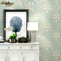 Beibehang Papel De Parede 3D European Damask Floral Wallpaper For Walls 3 D Wall Papers Home