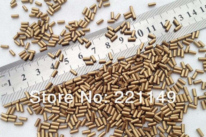 2.2mm * 5mm environ 7900 pièces/PP sac (1 KG). pierre de Flints dorés de haute qualité, accessoires de Flints plus légers. outils de Camping en plein air. - 5