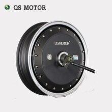 QS No Motor Do Cubo de Roda de 13 polegadas 6000 W 273 45 H V3 Brushless DC Motor Do Cubo Scooter Elétrico Da Motocicleta