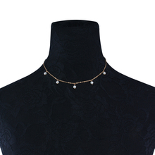 Trendy Simulated Pearl Pendant Choker Necklace Five Pearls Fashion Neck Collar for Women Statement Necklace Jewelry