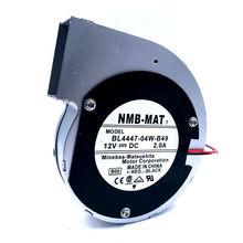 Для NMB BL4447-04W-B49 11028 12V 2A 2 провода турбина центробежный вентилятор воздуходувки металлический каркас
