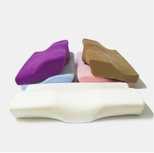 2016 Hot sale new design cylinder Cushion Orthopedic pillow memory foam 3D