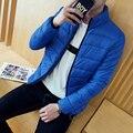 Barato al por mayor 2017 nueva edición Qiu dong han cultiva su moralidad hombre chaqueta corta cuello de la chaqueta de algodón acolchado párrafo