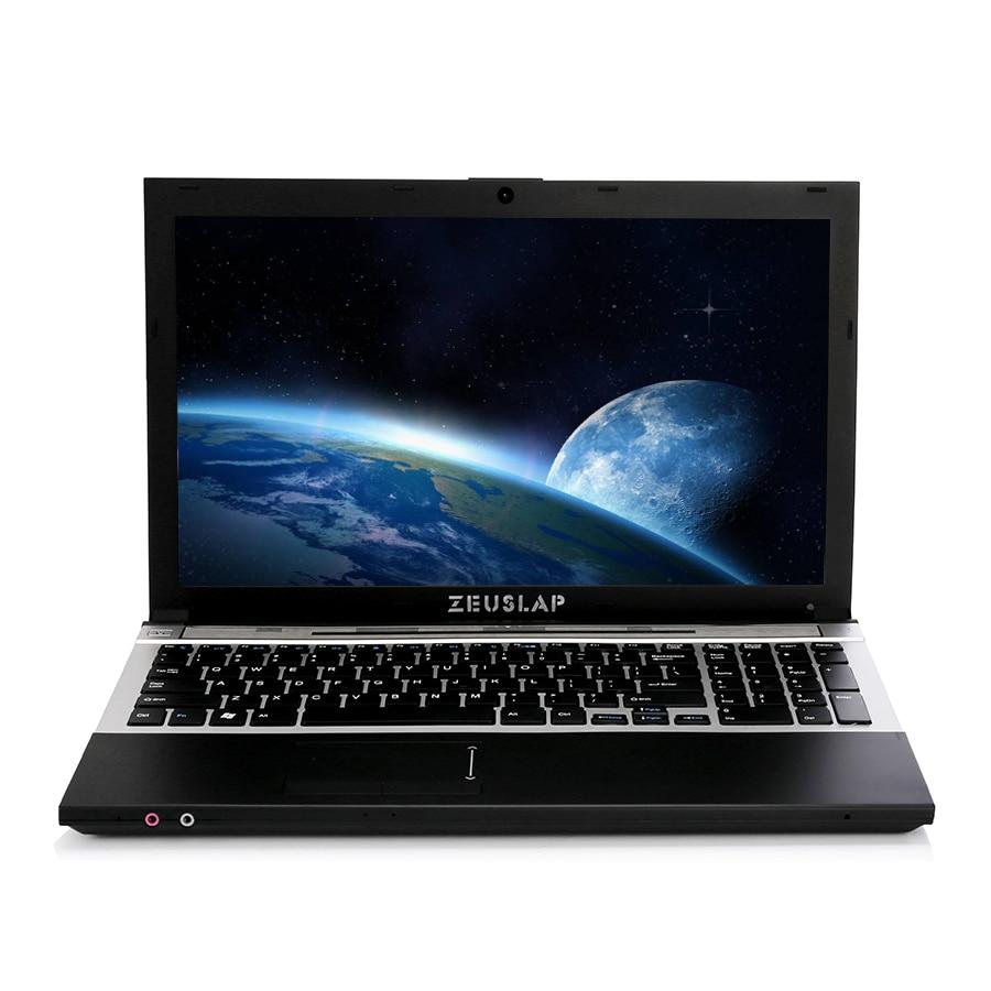 15.6inch 8GB RAM+256 SSD 1TB HDD I7 Or Intel CPU Windows 7/10 System 1920X1080P FHD Wifi Bluetooth DVD Laptop Notebook Computer