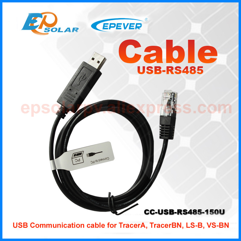 regulator for solar battery system use VS3048BN 30A 30amp with USB communication cable connect PC EPEVER Controller - 2