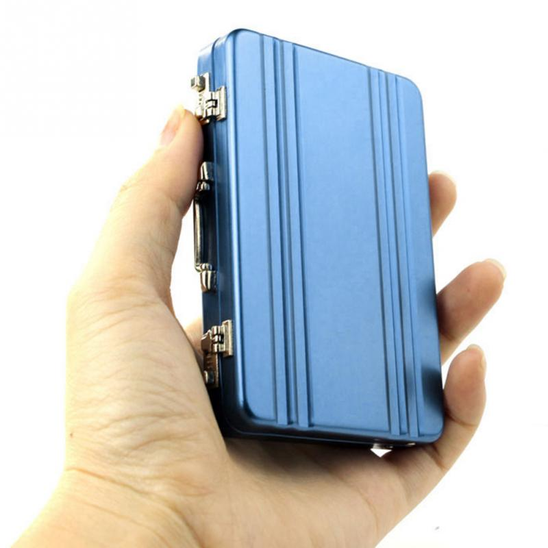 Brand New Metal Business ID Credit Card Holder Mini