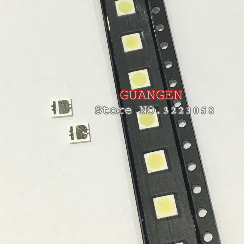 100pcs SEOUL High Power LED LED Backlight 2W 3535 6V Cool white 135LM TV Application SBWVL2S0E New and Original radwimps seoul