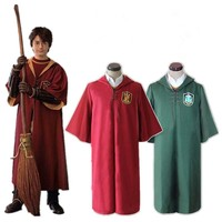 Harry Robe Cloak Gryffindor Slytherin Quidditch Robe Cloak Cosplay Costume