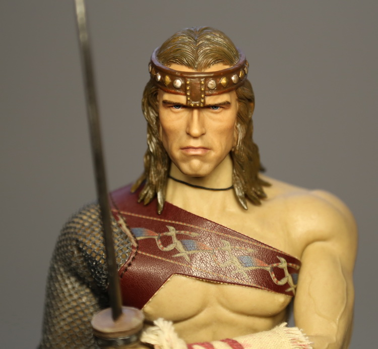 1/6 scale doll Accessory Conan the Barbar headsculpt Schwarzenegger head shape for 12 Action figure,Not included body,clothes 1 6th scale doll accessory conan the barbar headsculpt schwarzenegger head shape for 12 action figure not included body clothes