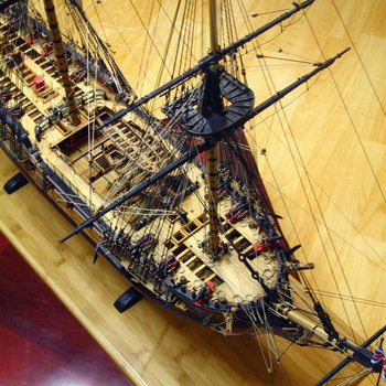 Wooden Ship Models Kits Train Hobby Diy Model Boats Wood 3