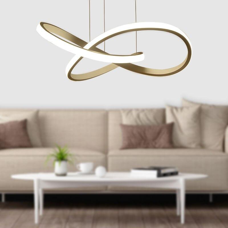 Акриловый светодиодный белый подвесной светильник креативный стиль бар подвесной светильник Декор современный подвесной светильник для г... - 4