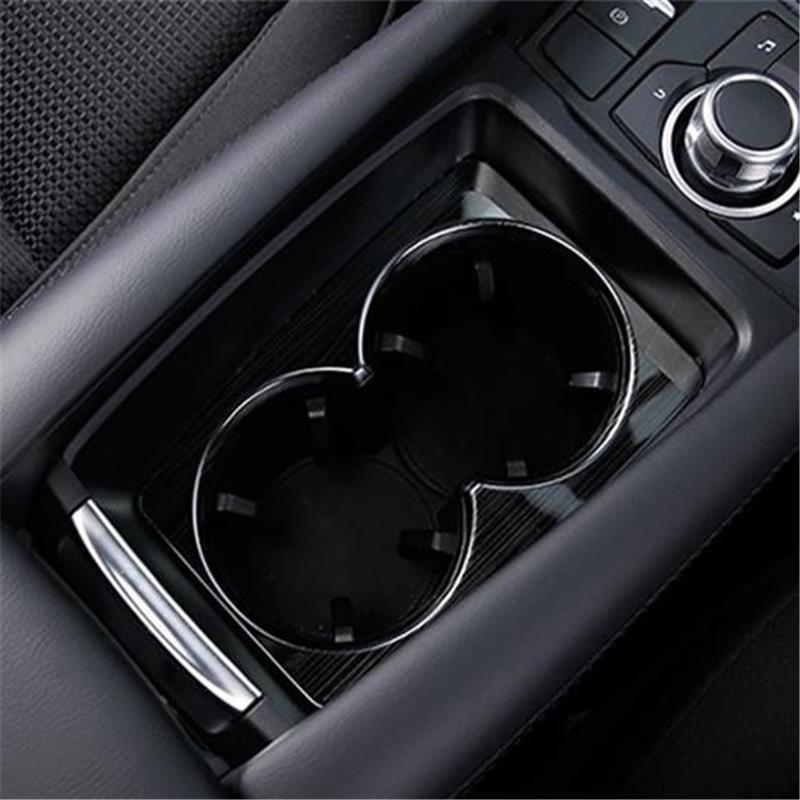 Intérieur de tasse de voiture chrome Durable modifié pièces décoratives Auto moulures de protection paillettes lumineuses 17 18 pour Mazda Atenza