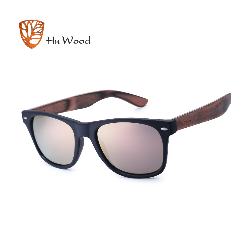 HU WOOD Sunglasses Man Wooden Sunglass For Unisex Fashion Women Sun Glasses Polarized Eyewear HD Lens Driving Pra GR8004